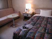 ベッドはセミダブルベッドになりますソファーでもゆったりくつろげますよ。