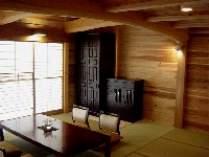 【じゃらん限定】かけ流し温泉のある古民家風の離れに泊まる・くつろぎの滞在プラン(2食付き)