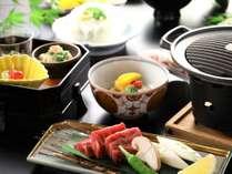 【牛陶板焼き会席】和牛サーロインステーキの旨みとコクを存分にご堪能ください
