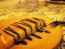 ★冬季限定★ウェルカムスイーツパンケーキサービス実施中!焼いてもそのままでも美味しいです♪