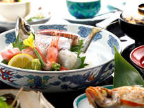 最高級会席一例/旬魚姿盛り・のど黒に旬素材でお食事をお楽しみ下さい