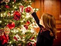 【Love&Sweet Christmas】 クリスマスケーキ付 暖炉のぬくもりとツリーが輝く特別な時間【お部屋朝食】