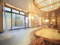 広々とした内湯。※内湯は温泉ではございません。