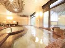 内風呂は沸かし湯なので、温泉に入れない方でも安心!
