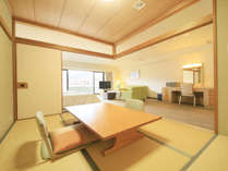 和室スペースと合わせるとなかなかの広さ!