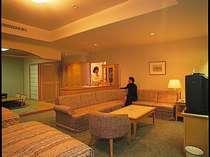 2部屋しかない特別スイートルームです