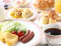 朝食は和洋バイキング♪