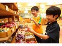 ちびっこ大好き!駄菓子コーナーあり!!どれにしようか迷っちゃう!