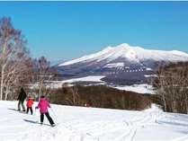 スキー場の頂上からはこんな眺めが…!!