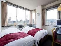 ホテルタイセイのツインルーム!全室角部屋!!※写真は一室の例でございます。