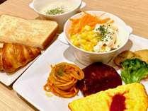 選べる朝食(洋食プレート)