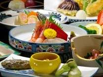 お料理一例。スタンダードの四季会席は訪れた季節の旬が味わえます♪