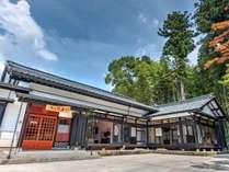 【禅の里 笑来/外観】木造平屋建ての日本家屋を、まるまる一棟貸し切り出来ます。