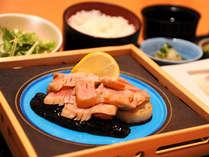 夕食メインはマグロステーキ★2食付きビジネスプラン