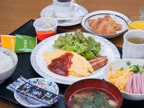 【朝食付】夜は自由に!朝はからだに優しい和定食