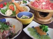 石見の食材を使用した料理(一例)