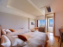 スタンダードツイン≪エアポードビュー≫おしゃれな部屋は若いカップルや常連様に多く利用されてます。