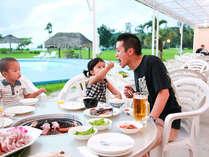 【BBQバイキング付プラン】夕陽を見ながら仲間や家族と楽しくBBQ♪/2食付