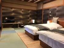 【1室限定:夢月】 露天・内風呂ベッド付和室