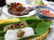 *夕食一例/新潟の郷土料理「笹寿司」