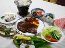 *夕食一例/笹寿司など新潟の郷土料理もご用意いたします。