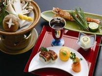 【夕食】先付け・前菜の一例