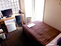 シングルルーム☆ビジネスご利用の方など1名様向け♪ごゆっくりお過ごしいただけます。