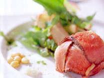 *【夕食(一例)】新鮮なお肉を使用した、仔牛のロースト