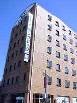 柴田駅から0分でホテルに到着