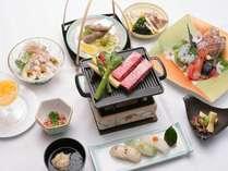 旬の食材を使用した和洋夕食膳(写真はイメージです)