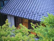 森泊 ー*ユキノシタ棟は平屋なので過ごしやすく、味わい深い棟です。