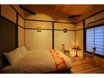 寝室(洋室)ダブルベッド1台