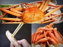 【越中かに旅×温泉】本ずわい蟹1杯付!蟹と温泉で冬満喫◇最大22時間ステイ