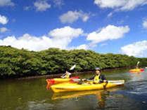 *カヌーに乗って西表の大自然を満喫♪