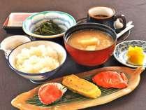 【朝食】和定食をご用意致します。