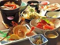 【夕食】(松)旬の豊かな味わいと香りを存分にご堪能ください。(イメージ)