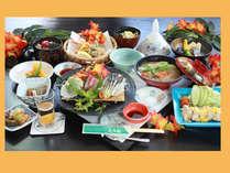 【定番】A「箱田城会席」天然温泉×本格日本料理