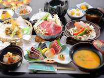 *【2019年秋】9~10月Cコース/上州牛の鋤鍋・秋鮭ちゃんちゃん焼きなどをご用意