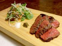 【豊後牛ステーキ一例】大分に来たなら味わいたい逸品。柔らかくジューシーな豊後牛を味わってください。