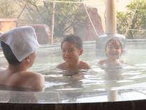 【プライベート・スパ】ご家族でごゆっくりと温泉をお楽しみくださいませ