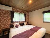 スーペリアヴィラⅢ:洋室ベッドルームは2室あり、グループ料や家族旅行におすすめです☆