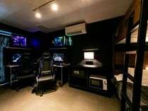 203号室 Houston - Galaxy Modernシャワールーム、トイレ別、システムキッチン完備しています。