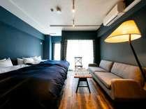 302号室  New York - Brooklyn Style広さ約54平米、最大8名様でご利用可能です。