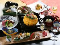 ~碌間【rokkan】~お料理は一例です。四季により厳選された食材を使用。調理法もことなります。
