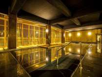■薬師の湯■ シックな雰囲気の新大浴場。心も体も寛ぎます。