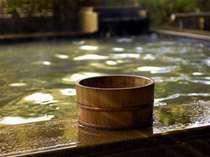 しっとりすべすべ泉質の良い当館自慢の温泉