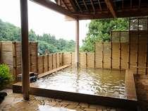 大浴場とサウナも併設された露天風呂『福の湯』