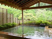 良質な泉質も特徴のひとつ。滑らかなお湯と柔かな香りです。