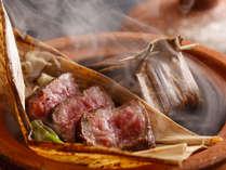~国産牛のワイン蒸し~ 基本懐石のメイン料理、ワインの香りをまとう柔らかお肉で満足!