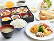 選べる朝食和食&洋食(イメージ)
